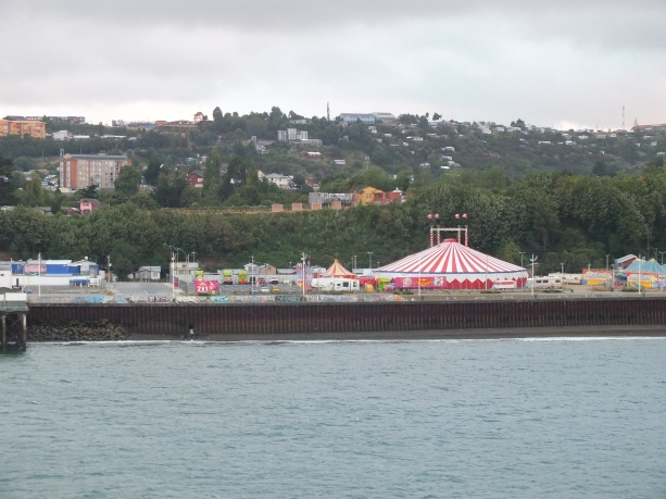 Puerto Montt. The circus was in town!