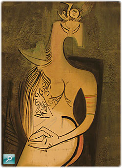 seated_woman-wilfredo-lam